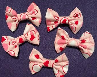 Heart bow tie   Etsy
