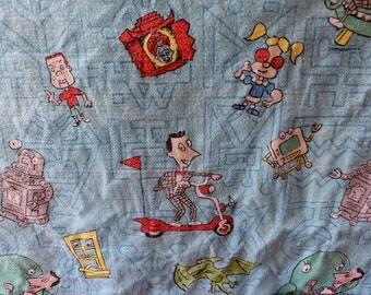 Vintage Pee Wee Herman Blanket
