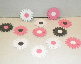 Die Cut  Daisies,Die Cuts, Scrapbook Supplies,Die Cut Flowers,Wedding Decor, Baby Shower Decor, Party Decor,Embellishments