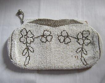 Small Seed Pearl Vintage Handbag