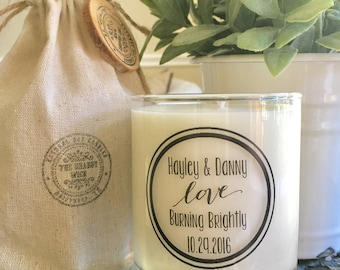 Soy Candles--Personalized Wedding Gifts-Wedding Gifts-Engagement Gifts-Bridal Shower Gifts-Bride And Groom-Anniversary Gifts