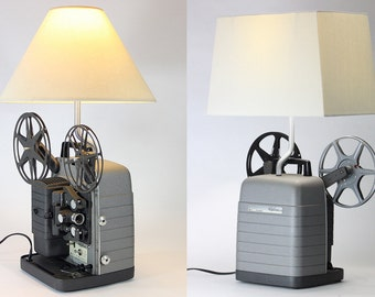 vintage 1940s revere 8mm model 85 movie projector table lamp