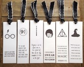 Harry Potter Bookmark, Your Choice
