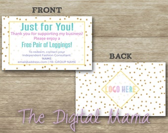 Free Leggings Coupon - Business Clothing Customer Coupon - Business Referral Coupon - LuLaRoe New Customer Coupon - Digital Download