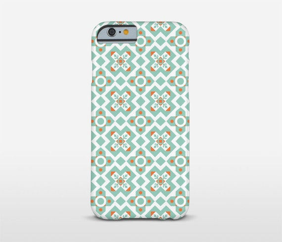 Ceramic Tiles Phone Case, Barcelona Tiles, Samsung Cases, Graphic Pattern, iPhone Case, Xperia Cases
