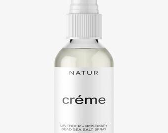 Dead Sea Salt Spray - Organic Lavender Scent 4oz