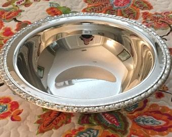 Roger's & Bro 1762 Silver Plate Bowl Vintage
