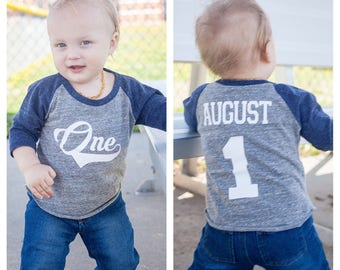 Baseball birthday shirt, boys birthday shirt,  baseball t-shirt, baseball birthday party, baseball party, 1st birthday shirt, first birthday