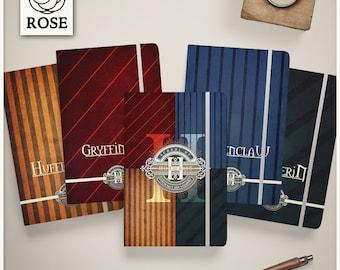 Notebook - Harry Potter - Hogwarts / Gryffindor / Ravenclaw / Hufflepuff / Slytherin