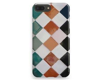 Tile iPhone Case, Marble iPhone Case, Marble iPhone 7 Case, Tile Phone Cover, iPhone 7 Plus Case, iPhone 6 Case, iPhone 7 Cover, iPhone 5 SE