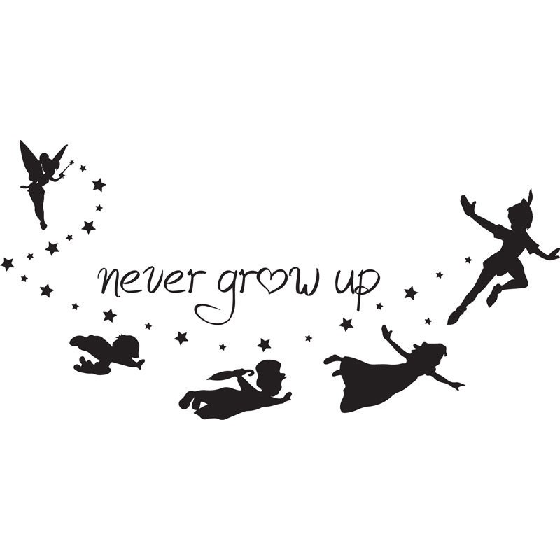 SVG disney peter pan never grow up peter pan quote disney