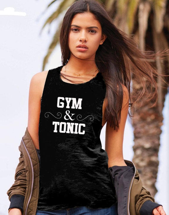 Gym & Tonic Muscle Tee