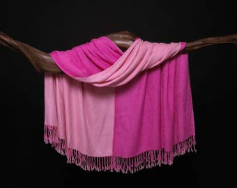 Lush Shades of Pink Wrap