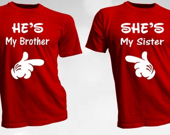 Brother and Sister T Shirts