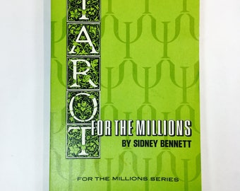 Tarot For The Millions Book Sidney Bennett First Edition 1967 Sherbourn Press