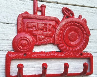 Red tractor etsy for International harvester wall decor