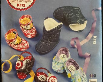 Ellie Mae Designs K113 - Toe Topping Cuties Baby Shoes and Booties