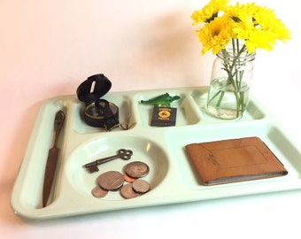 vintage cafeteria lunch trays