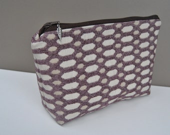 NEW SIZE! Medium size makeup bag, cosmetic case, toiletry case, zipper pouch