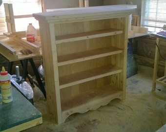 Rustic Bookcase (Reclaimed Wood)