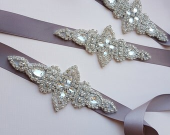 Bridesmaid belt, bridesmaid sash, bridesmaids sashes, flower girl belt, bridesmaid accessory, bridesmaids set, small sash belt, LISA