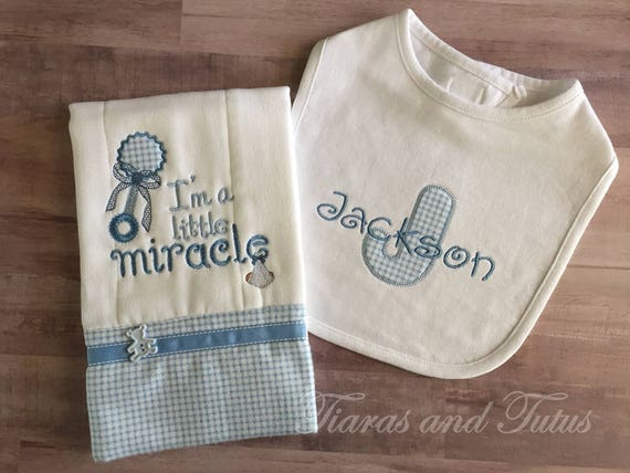 Personalized baby gifts burp cloths embroidered burp cloth negle Gallery