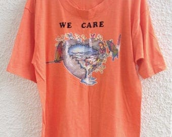 Hippie Orange Mother Earth Environmentalist  Shirt