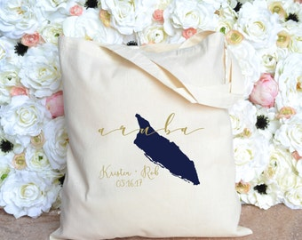 Aruba Destination Wedding Welcome Bag - Wedding Welcome Bag