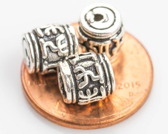Beads 925 Bali Sterling silver 1 per order-s5