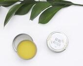 1 oz tin Natural Wood Polish - Organic Beeswax - Organic Olive Oil - Wood Ring Polish - Wood Bead Polish - Add on Item for Wood Toys