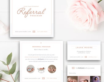referral card etsy