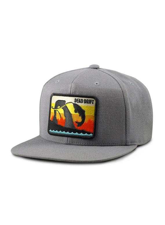 Items similar to fly fishing hat utah flat bill utah for Flat bill fishing hats