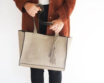 leather tote, leather laptop bag, large shoulder bag, leather tote, leather tote bag, leather bag, woman bag,