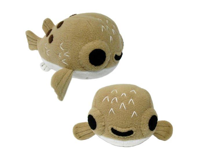 Pufferfish Plush Toy Pattern