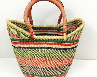 Ghana African U Shopper Market Bag