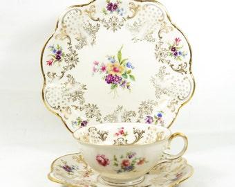 Zeh Scherzer Bavaria Porcelain Breakfast Set 'Trio'