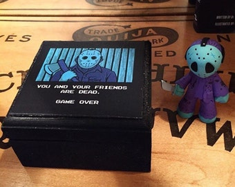 NES Jason Voorhees keepsake box, Jewelry Box, Friday the 13th