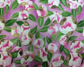 Michael Miller - SPRING (SPRING BUD - Berry) - 100% Cotton Premium Quality Fabric - Per 1/2 Yard