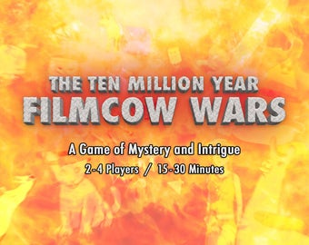 The Ten Million Year FilmCow Wars Card Game