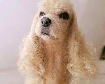 Custom Dog portrait, Custom pet memorial, Pet loss, Personalized Pet Memorial, Gift for her, Pet portrait, Dog portrait, Dog sculpture