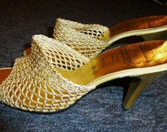 Unique High Heel Mules Related Items Etsy