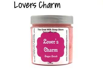 Lover's Charm (Compare to Love Spell) Sugar Scrub | Love Spell Type