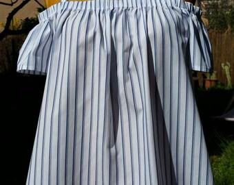 Cotton off-the-shoulder Sun Top