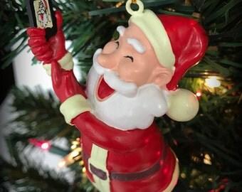 Tree Buddees Selfie Santa Claus Christmas Ornament