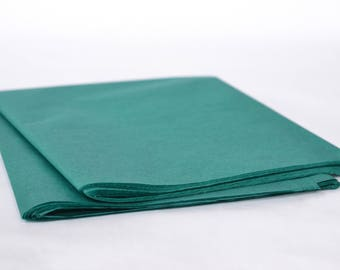 Teal Tissue Paper, Party Decoration, Wrapping Paper, Teal Wedding Decor, Gift Packaing, 24 Sheets