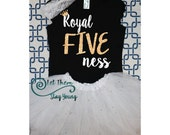 Royal five ness shirt 5 Years Old five and cute fifth Birthday Shirt 5nd Birthday Shirt 5th Birthday Party birthday outfit