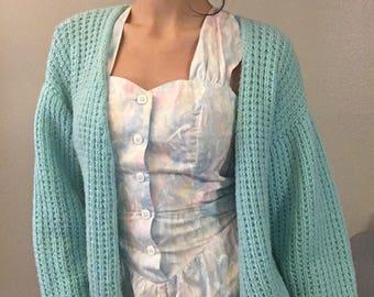 handmade knitted sweater