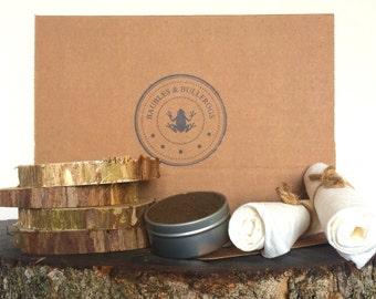 DIY / Do It Yourself Wood Coaster Kit / Craft