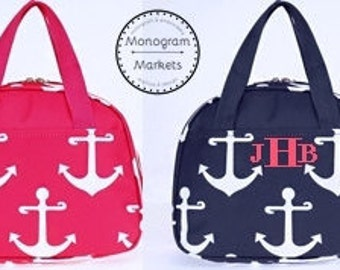Anchor Lunch Kit with monogram