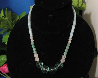 Prima Necklace. What a lovely color combination!